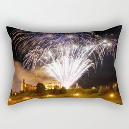Castle Illuminations Inverness Scotland Rectangular Pillow