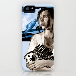 NinaMelusina and the concept of fish iPhone Case