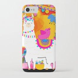 Fiesta Llama iPhone Case