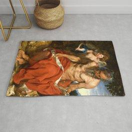 "Anthony van Dyck ""Saint Jerome"" Rug"