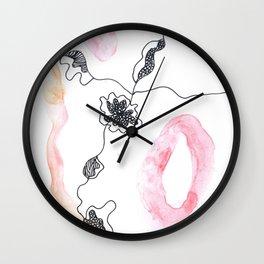 Scandi Micron Art Design   170412 Telomere Healing 15 Wall Clock