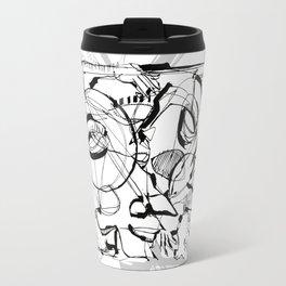 The Struggle Travel Mug