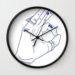 Make My Hands Famous - Part III Wall Clock