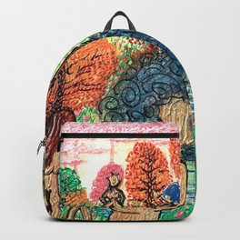 Lady Swirls and Curls Backpack