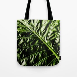 Rib And Veins Tote Bag