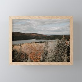 Acadia National Park Framed Mini Art Print