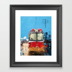 Rain Dance Framed Art Print