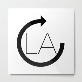 Refresh LA Metal Print