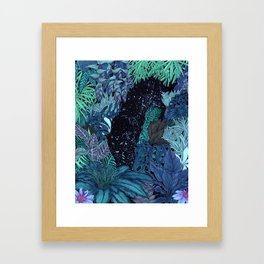 The Jungle at Night Colour Version Framed Art Print