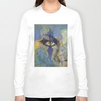 gothic Long Sleeve T-shirts featuring Gothic Art by Michael Creese