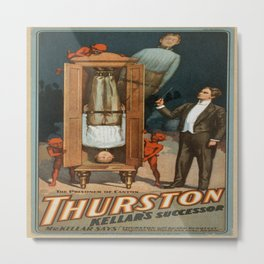 Vintage poster - Thurston the Magician Metal Print