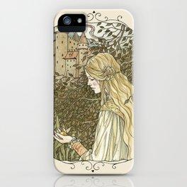 golden ball iPhone Case