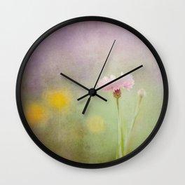 Spring Simplicity Wall Clock