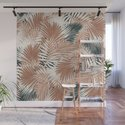 Neutral Palm Leaves / Nomade Mood by matise