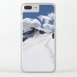 Aiming high Clear iPhone Case