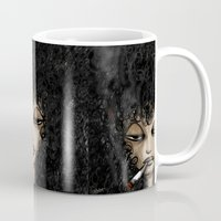 women Mugs featuring Women  by Eyad Shtaiwe