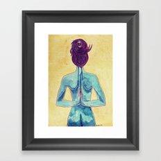 Paschima Drsti Framed Art Print