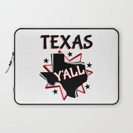 Texas State Y'all Laptop Sleeve