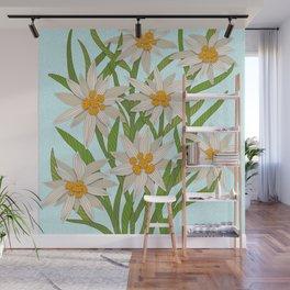 Edelweiss Wall Mural