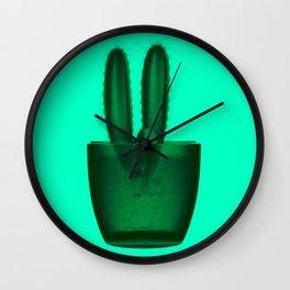 x-ray cactus Wall Clock