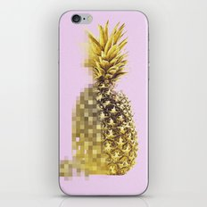 Pineapple Pixels iPhone & iPod Skin
