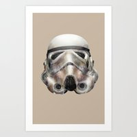 stormtrooper Art Prints featuring Stormtrooper by beart24