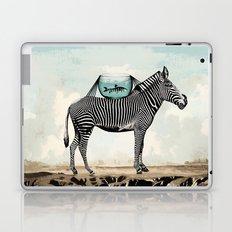 Zebra Friends Travelling the World Laptop & iPad Skin