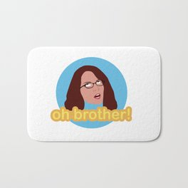Oh Brother Bath Mat