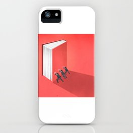 BANNED BOOKS iPhone Case