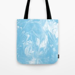 Maiko - spilled ink marbled paper art print abstract painting free spirit nature ocean waves water  Tote Bag