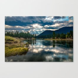 Snake River Revival - Morning Along Snake River in Grand Tetons Canvas Print