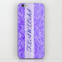flawless iPhone & iPod Skins featuring FLAWLESS by Saundra Myles