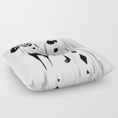 Breathe me - Emilie Record Floor Pillow