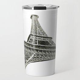 Eiffel Tower Sketch  Travel Mug