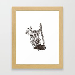 Koala Sanctuary Framed Art Print