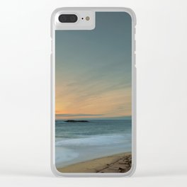 Sandwood Bay at Sunset Clear iPhone Case