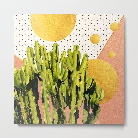 Cactus Dream #society6 #decor #buyart Metal Print