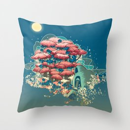 Journey /Discovery  Throw Pillow