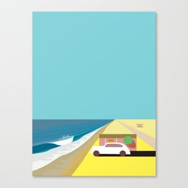 Mar de Cortez Canvas Print