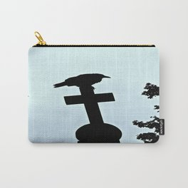 Pere-Lachaise Raven Carry-All Pouch