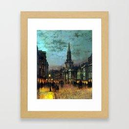 John Atkinson Grimshaw Blackman Street, London Framed Art Print