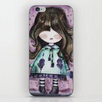 girly iPhone & iPod Skins featuring girly by norjene