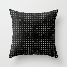 Grid Pattern 005 Throw Pillow