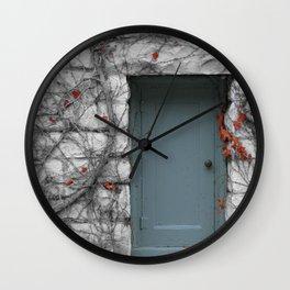 Winter Dreary Wall Clock