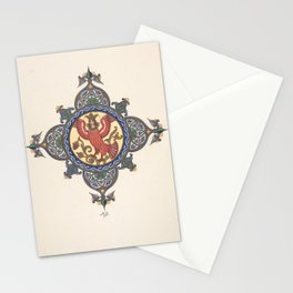 Tailpiece [Firebird as Tsarevna] Boris Zvorykin Stationery Cards