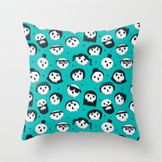 The Well Dressed Dead Throw Pillow