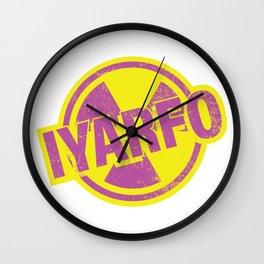 IYARFO Magenta Wall Clock