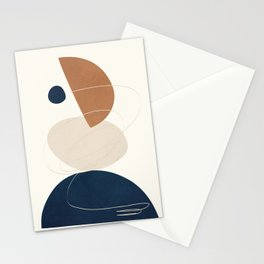 Spiraling Geometry 3 Stationery Cards