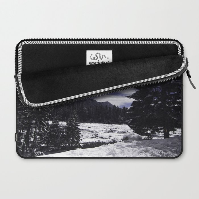 Star Trails in Mount Rainier National Park Laptop Sleeve
