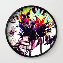 Mr. Piano Man Wall Clock